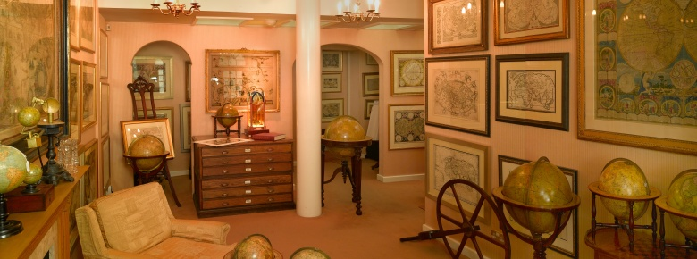 Antique Maps at the Map House of London